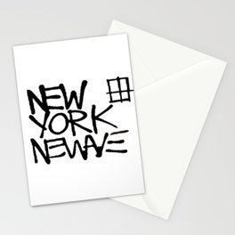 Basquiat New York New Wave Stationery Cards