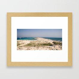 Platja des Trocadors, Formentera Framed Art Print