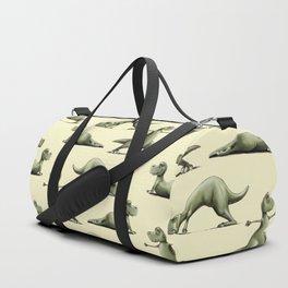 Yogasaurs (Yellow) Duffle Bag