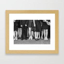 The Lineup Framed Art Print
