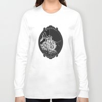 chandelier Long Sleeve T-shirts featuring Parisian Chandelier by Heidi Fairwood