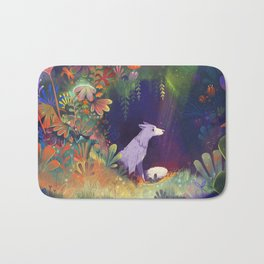 In the Forest Shadows Bath Mat
