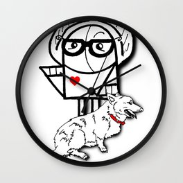 You're Safe Now Wall Clock