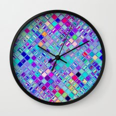 Re-Created  Mosaic No. ELEVEN by Robert S. Lee Wall Clock