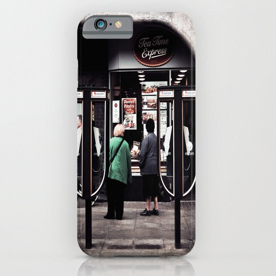 Time For A Nice Cup Of Tea And A Slice Of Cake iPhone & iPod Case