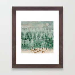 Into wilderness we go Framed Art Print