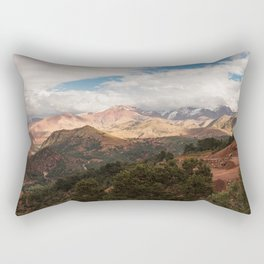 Tichka, A Long and Winding Road - Atlas Mountains, Morocco Rectangular Pillow