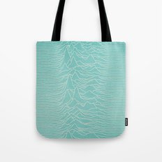 UNKNOWN PLEASURES Tote Bag