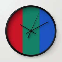 Flag of planet Mars Wall Clock