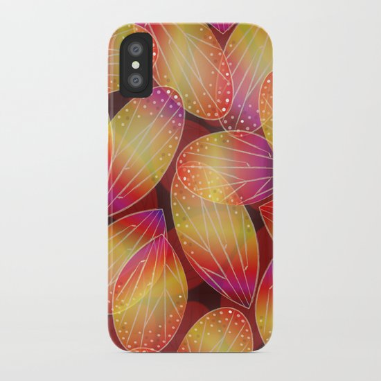 Fire Fairy Wings iPhone Case