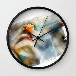 The Last Dance, dancer Wall Clock