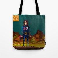 8bit Tote Bags featuring 8bit sequal? by pixel.pwn | AK
