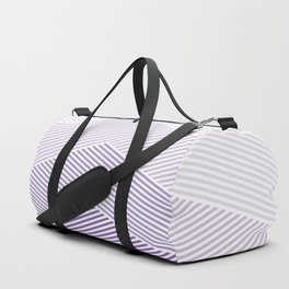 Shades of Purple Abstract geometric pattern Duffle Bag