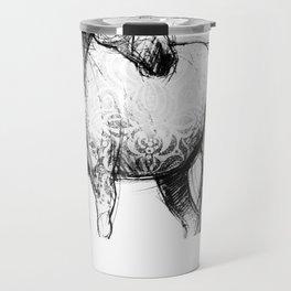 Horse (Mustang) Travel Mug