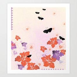 Flower Time! Art Print