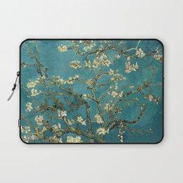 Van Gogh Blossoming Almond Tree Laptop Sleeve
