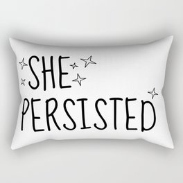 SHE PERSISTED Rectangular Pillow