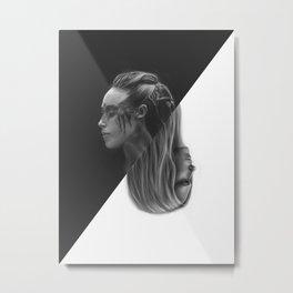 Clexa Metal Print