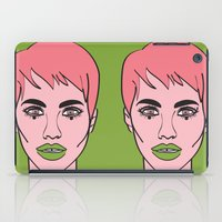 mod iPad Cases featuring Mod by Grace Teaney Art