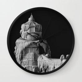 FROZEN LIGHTHOUSE MUG Wall Clock