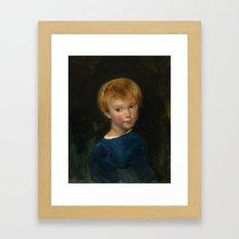 """Eugène Delacroix """"Marguerite-Juliette Pierret"""" Framed Art Print"""