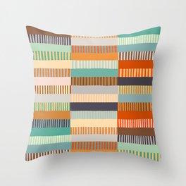 Fall Grandmother's Quilt Throw Pillow