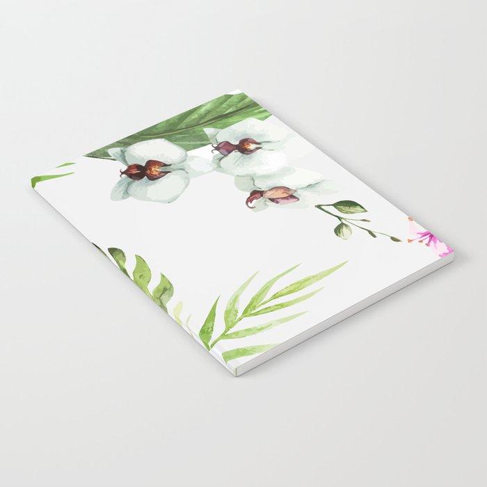 Tropical Serenity #society6 Notebook