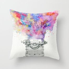 Somniare Aude Throw Pillow