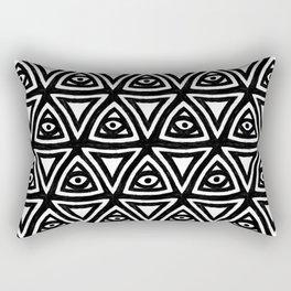 All Seeing Eyes Rectangular Pillow