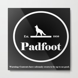 Padfoot Metal Print