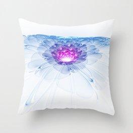 Universal Bloom Throw Pillow