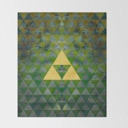 Link Geometry Throw Blanket