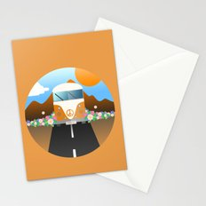 Love Van Stationery Cards