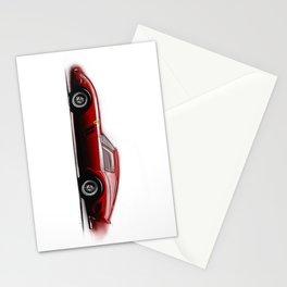 Automotive Art Stationery Cards