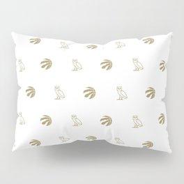 Raptors - White Pillow Sham