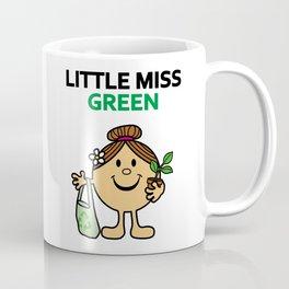 Little Miss Green Coffee Mug