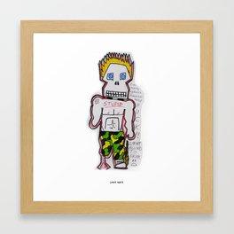 Spike Steve Framed Art Print