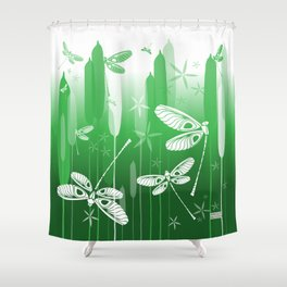 CN DRAGONFLY 1021 Shower Curtain