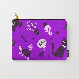 A cat, a skull and other stuff Carry-All Pouch