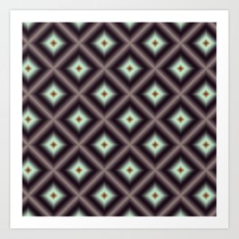 Starry Tiles in atBMAP 00 Art Print