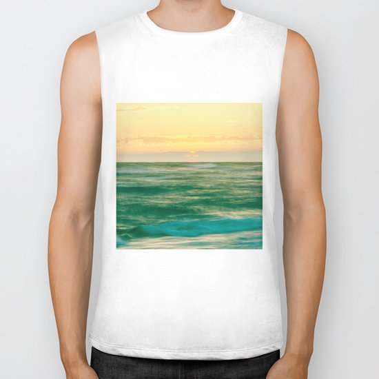 just another sunset Biker Tank