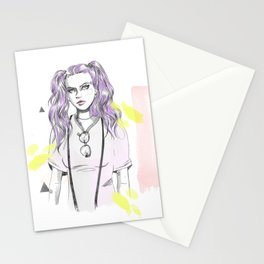 Festival vibes Stationery Cards