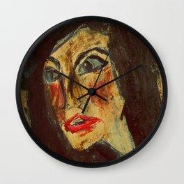 Expressionism Figure Interpretation Wall Clock