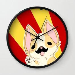 Comrade Corgi Wall Clock