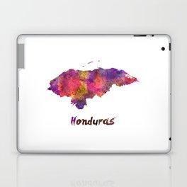 Honduras  in watercolor Laptop & iPad Skin