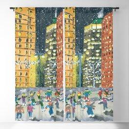 Christmas on Woodward Avenue Blackout Curtain