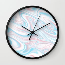 Trippy Abstract Wall Clock