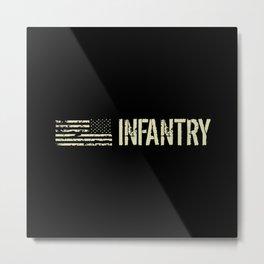 U.S. Military: Infantry Metal Print