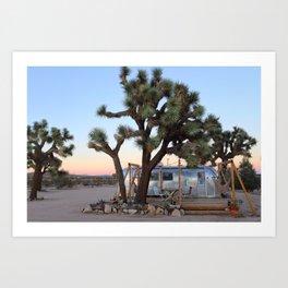 Airstream, Joshua Tree Acres 3 Art Print
