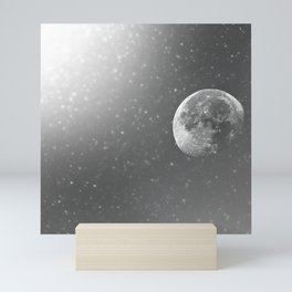 Dandelion Moon Mini Art Print